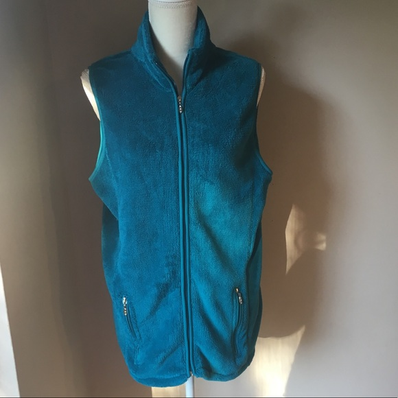 French Connection Jackets & Blazers - French Connection Fleece Vest Size: 14-16 EUC